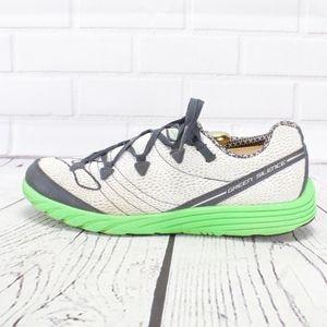 Brooks Green Silence Lightweight Sneakers Size 11